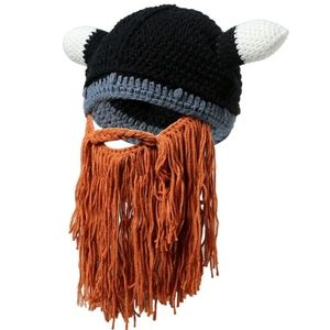 Other - Men's Novelty Barbarian Viking Beanie